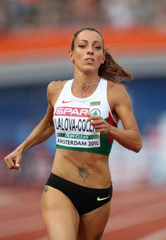 Ivet Lalova-Collio of Bulgaria in action during the semi final of the womans on day three of The European Athletics Championships at Olympic Stadium on July 2016 in Amsterdam,. Get premium, high resolution news photos at Getty Images Allyson Felix, Athletic Models, Athletic Girls, Running Pictures, Muscular Women, Muscle Girls, Sports Stars, Fitness Models, Female Fitness