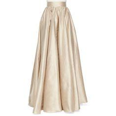 Jenny Packham Full Satin Ball Skirt