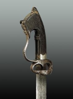Zanzibar Nimcha handle 03g.jpg - African sword and knife - African Weapons