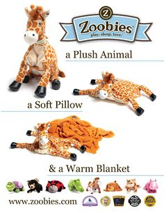 Simple Happy Life: Zoobies Plush Toys Review and Giveaway