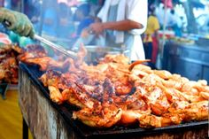 Malaysian food is honestly some of the best food around, especially in Asia. Try it first hand for yourself in one of the many street market. Local cuisine freshly made to order.