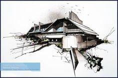 Computer VS Hand Drawings in the Architecture World - Architecture Admirers