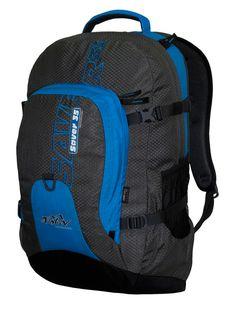 Раница за спорт и туризъм Tashev Saver 35 с джоб за лаптоп до 17 инча, изработена от Cordura® с Teflon®, обем на раницата 35 литра, тегло 780 гр.