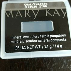 Mary Kay eye color Mary Kay mineral eye color in coal Makeup Eyeshadow