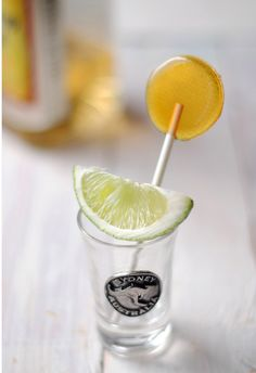 Homemade Tequila Lollipops