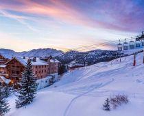 Véritable départ- retour skis aux pieds Genuine ski-in/ski-out destination