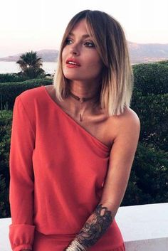 Frisuren 2019 modern ways to style a bob with bangs hairstyles Medium Hair Cuts, Medium Hair Styles, Short Hair Styles, Ombre Hair, Balayage Hair, Short Balayage, Pretty Hairstyles, Bob Hairstyles, Korean Hairstyles