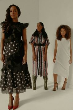 "thepowerofblackwomen actresses 'Dear white people photography  "" Antoinette Robertson, Logan Browning, Ashley Blaine Featherson for Nylon Magazine """