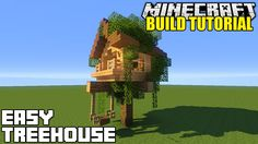 Minecraft: How To Build A Treehouse Tutorial (Simple & Easy)