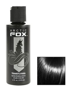 Arctic Fox Semi-Permanent Transylvania Black Hair Dye | Hot Topic