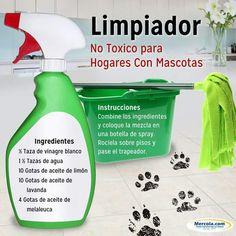 Limpiador No tóxico para hogares con Mascotas