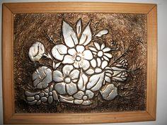 Como hacer cuadros de repujado en aluminio - Imagui