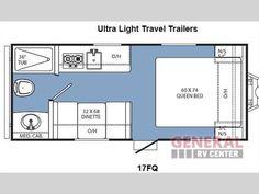 New 2015 Coachmen RV Clipper Ultra-Lite1 17FQ Travel Trailer at General RV | Orange Park, FL | #120381