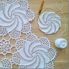 Irish Crochet Patterns, Crochet Doily Diagram, Crochet Squares, Filet Crochet, Crochet Motif, Diy Crochet, Crochet Designs, Crochet Flowers, Crochet Bedspread Pattern