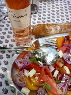 déjeuner provençal ...