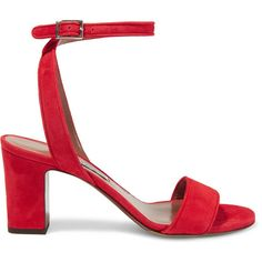 Gianvito Rossi Janis suede sandals ($733) ❤ liked on Polyvore ...