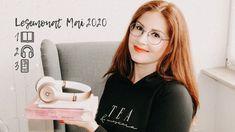 Lesemonat Mai 2020📚 | gehört & gelesen 📚🎧 Mai, Blog, T Shirts For Women, Reading Books