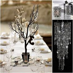 modern glamourous wedding ideas | modern glamour favors Fun Wedding Ideas For Whimsical Weddings