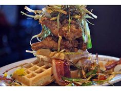 Hash House A Go Go Las Vegas - The best breakfast with crazy big, and I mean BIG, portions.
