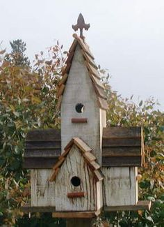 birdhouse rustic | Found on rusticwillow.homestead.com