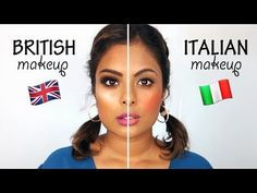 Italian Makeup - Here are the popular makeup trends that I saw while living in London for a month in August I also moved around thro. Italian Makeup, French Makeup, Italian Hair, Hair And Makeup Tips, Makeup Kit, Beauty Makeup, Eye Makeup, Square Face Makeup, American Makeup