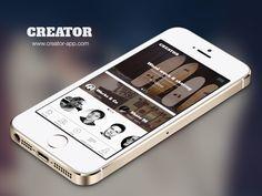 Creator iOS App - Now on the app store by Jana de Klerk for KINGLY