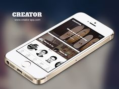 Creator iOS App - Now on the app store by Jana de Klerk for KINGLY