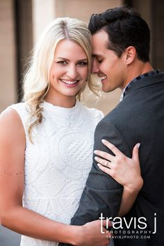 She's looking engagement picture, White Dress, Travis J Photography, Colorado