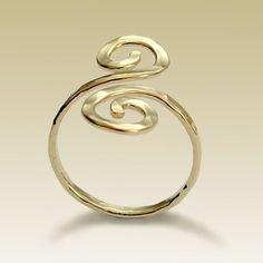 Toe Rings   gold toe rings