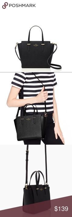 Kate spade small Hayden black NWT Flash moving saleBrand new! Never used. No dust bag, new with tag. This is the small Hayden:) I put the straps inside the bag since I don't use them anymore No trading srry since I am moving away feel free to ask questions~ kate spade Bags Crossbody Bags