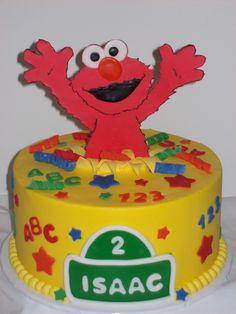 Elmo Cake for Reichen
