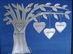 Tin Anniversary Gift  10 Year Anniversary by creationsbyingrid1