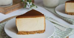 Tarta mousse de crema pastelera y toffee