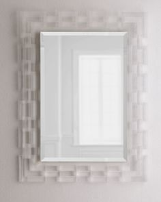 Lachlan+Lucite-Frame+Mirror+at+Horchow.