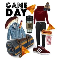 """""""game day"""" by patriciamirjamarca on Polyvore featuring Vetements, adidas, Pendleton, Lucky Brand, Pier 1 Imports and plus size clothing"""