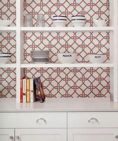 mirabelle fine decor #wallpaper #kitchen #diningroom #geometrical