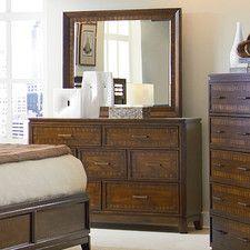 Avion 7 Drawer Dresser with Mirror