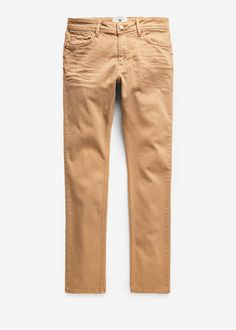 Dar kesim taba renk Alex jean pantolon