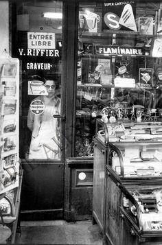 Paris 1958 Chez le graveur (Marc Held)