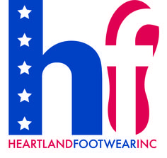 Evoke Graffix - Heartland Footwear, Inc. Logo Design