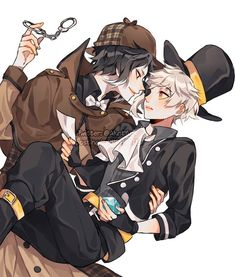 Tweet nội dung bởi ✂️🔪レイニー💜💛☔ (@AkatYuz) / Twitter Stray Dogs Anime, Bongou Stray Dogs, Cute Gay Couples, Anime Couples, Anime Boys, Manga Art, Anime Art, Yokohama, Kawaii