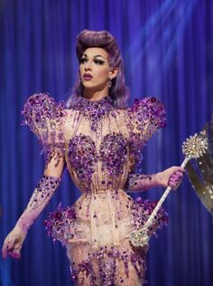 Violet on RuPaul's Drag Race