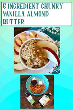 Vegan Gluten Free, Gluten Free Recipes, Vegan Vegetarian, Nut Butter, Almond Butter, Sweet And Salty, My Recipes, A Food, Food Processor Recipes