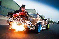 #rx7, #stickerbomb, #hellaflush #drift