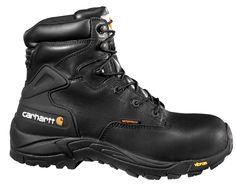 6-Inch Blucher Waterproof Non-Safety Toe Work Boot