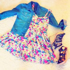 Cute summer date outfit
