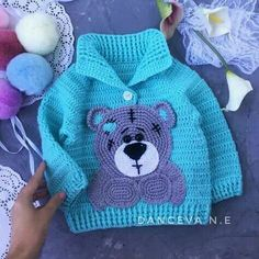 Baby Boy Coming Home/Baptism Outfit Crochet Pattern Easy Baby Knitting Patterns, Baby Clothes Patterns, Baby Patterns, Crochet Patterns, Baby Girl Crochet, Crochet Baby Clothes, Crochet For Boys, Easy Crochet, Vestidos Bebe Crochet