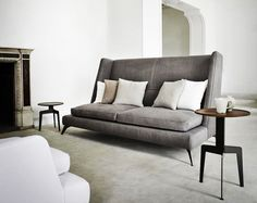 Wing Back Sofa