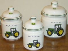 john deere kitchen decor | Junque-ez Thrift & Consignment Shoppe - Catalog: Kitchenware