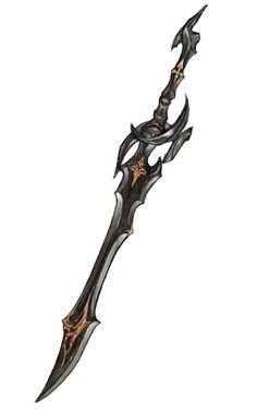 Dark Knight's Caladbolg from Final Fantasy XIV: Stormblood #illustration #artwork #gaming #videogames